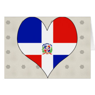 I Love Dominican Republic Greeting Card