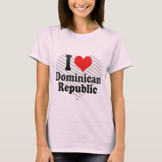 I Love Dominican+Republic T-Shirt