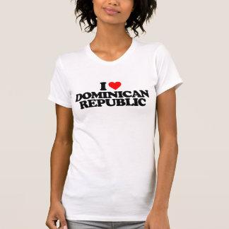 I LOVE DOMINICAN REPUBLIC T-Shirt
