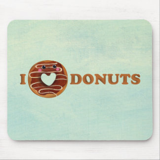 I love Donuts Mouse Mat