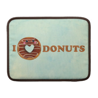 I love Donuts Sleeve For MacBook Air