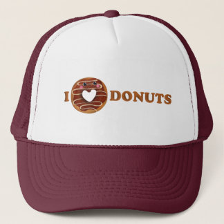 I love Donuts Trucker Hat