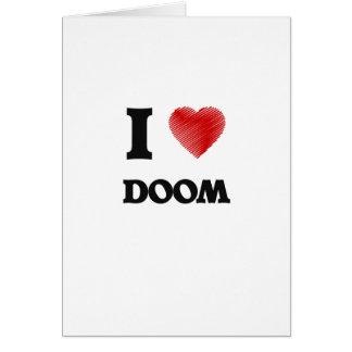 I love Doom Greeting Card