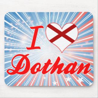 I Love Dothan, Alabama Mousepad
