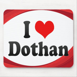 I Love Dothan, United States Mouse Mat