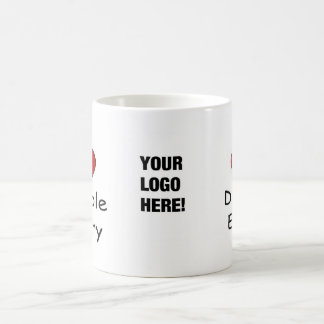 I Love Double Entry - Add your Logo Mug