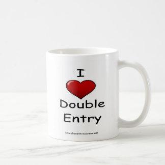 I Love Double Entry Mug