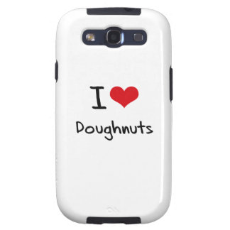 I Love Doughnuts Galaxy S3 Covers