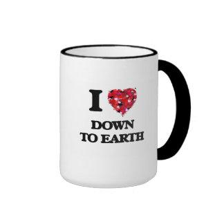 I love Down To Earth Ringer Mug