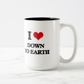 I love Down To Earth Two-Tone Mug
