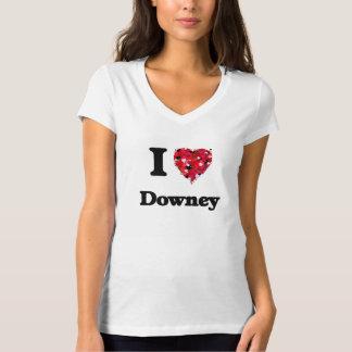 I love Downey California Tshirts