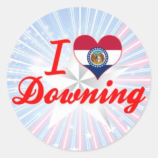 I Love Downing, Missouri Sticker