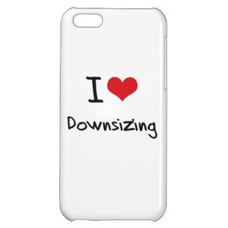 I Love Downsizing iPhone 5C Case