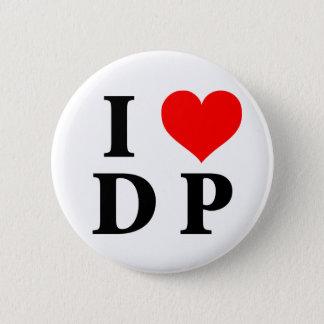 I Love DP 6 Cm Round Badge