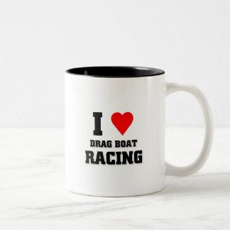 I love Drag Boat Racing Mugs