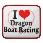 I love Dragon Boat Racing iPad Sleeve