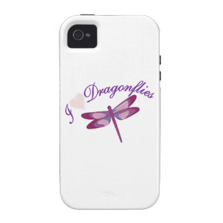 I Love Dragonflies Vibe iPhone 4 Cover