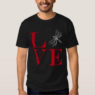 I Love Dragonflies - Dark Colored Tee