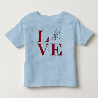 I Love Dragonflies - Light Colored Tee