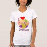 I Love Dragons Tee Shirt
