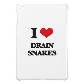 I love Drain Snakes iPad Mini Cover