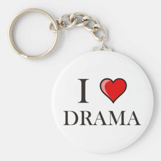 I love Drama Key Ring