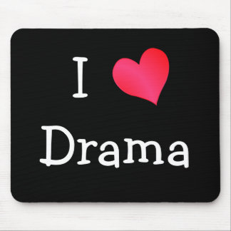 I Love Drama Mouse Mat