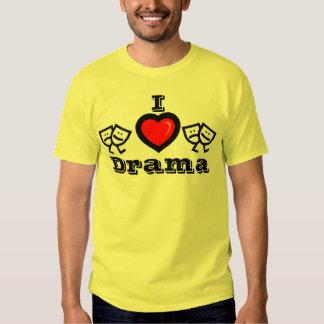 I Love Drama w/KBP on Back Shirt