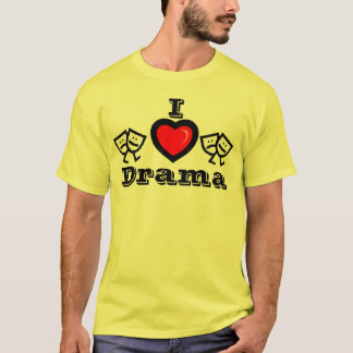 I Love Drama w/KBP on Back T-Shirt