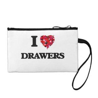 I love Drawers Change Purse