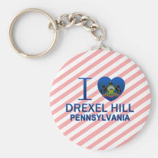 I Love Drexel Hill, PA Keychains