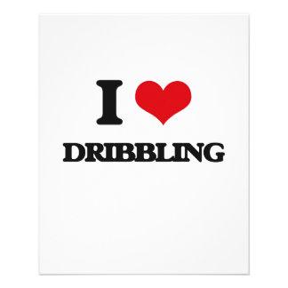 I love Dribbling 11.5 Cm X 14 Cm Flyer