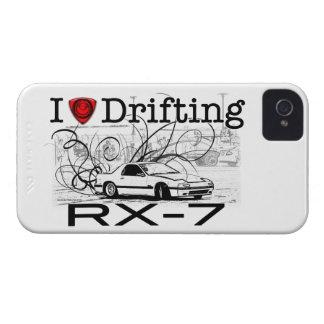 I love drifting RX-7 iPhone 4 Case-Mate Case