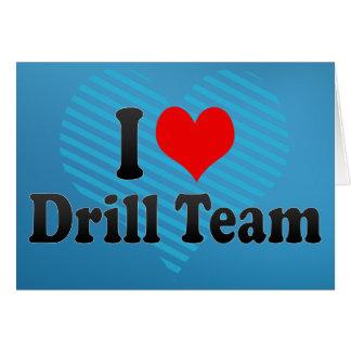 I love Drill Team Greeting Card