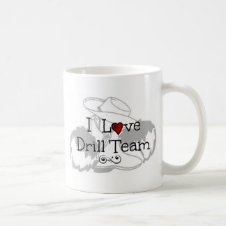 I Love Drill Team Mugs