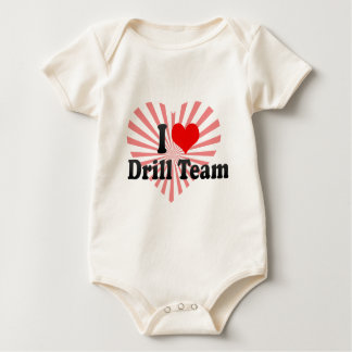 I love Drill Team Rompers