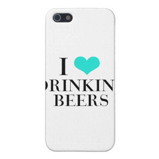 I Love Drinking Beers Case For iPhone 5/5S