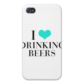 I Love Drinking Beers iPhone 4/4S Cover