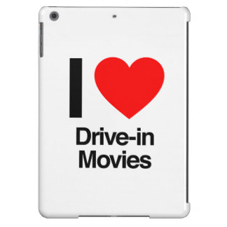 i love drive-in movies iPad air covers