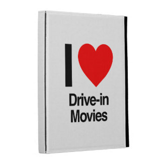 i love drive-in movies iPad cases