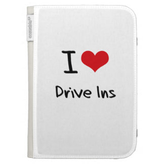 I Love Drive Ins Kindle Cover