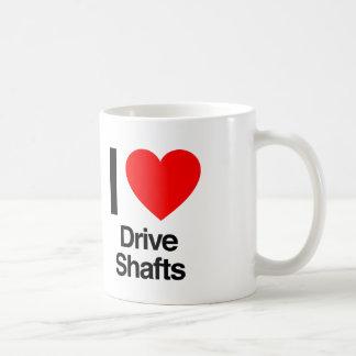 i love drive shafts basic white mug