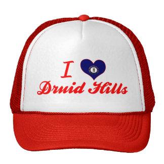 I Love Druid Hills Kentucky Hats