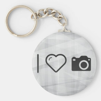 I Love Dslr Cams Basic Round Button Key Ring