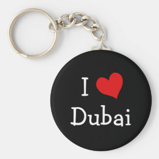 I Love Dubai Keychains