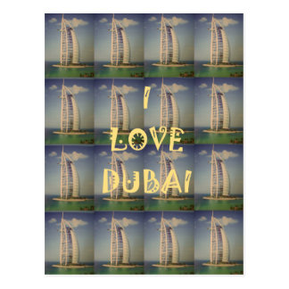 I Love Dubai Postcard