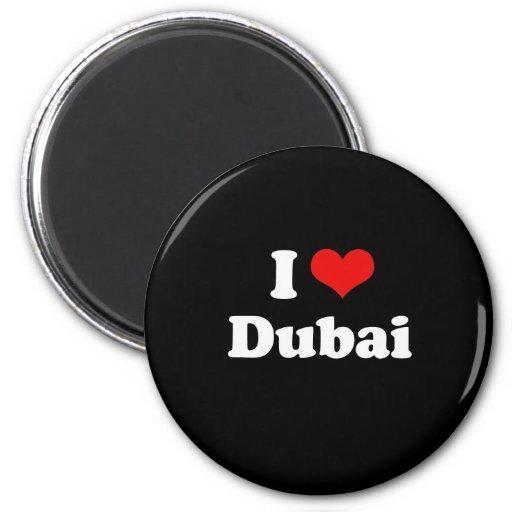 I Love Dubai Tshirt Fridge Magnet
