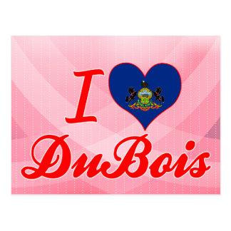 I Love DuBois, Pennsylvania Postcard