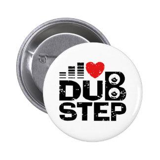 I Love Dubstep 6 Cm Round Badge