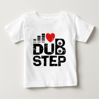 I Love Dubstep Baby T-Shirt